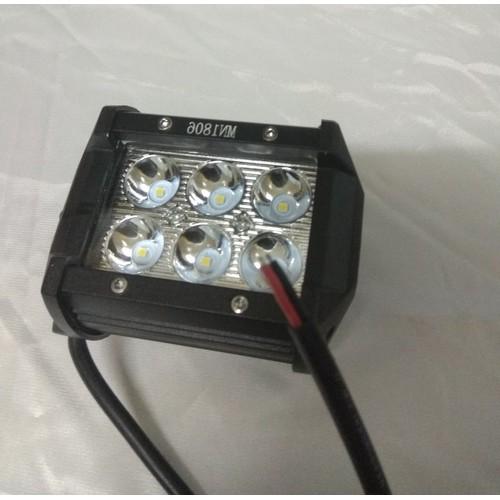 Đèn trợ sáng cho xe máy hình vuông 6 Led đi làm khuya siêu sáng - 7321053 , 17121125 , 15_17121125 , 162000 , Den-tro-sang-cho-xe-may-hinh-vuong-6-Led-di-lam-khuya-sieu-sang-15_17121125 , sendo.vn , Đèn trợ sáng cho xe máy hình vuông 6 Led đi làm khuya siêu sáng