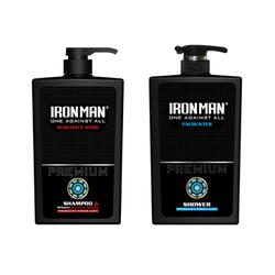 Combo dầu gội và sữa tắm hương nước hoa Ironman Humanity - Ironman Encounter