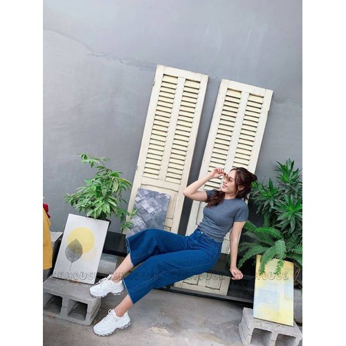 Quần jeans ống rộng nữ đẹp - 7330815 , 17125552 , 15_17125552 , 135000 , Quan-jeans-ong-rong-nu-dep-15_17125552 , sendo.vn , Quần jeans ống rộng nữ đẹp