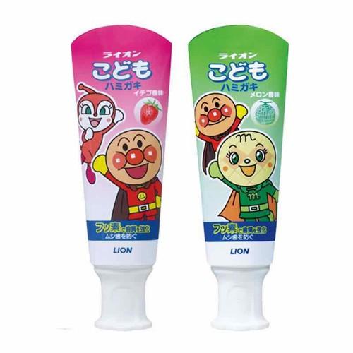Kem đánh răng trẻ em Lion nội địa Nhật 40g