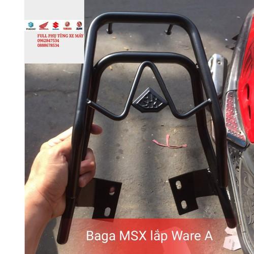 baga sau MSX lắp Ware A RS hầm hố cho xế yêu - 4807189 , 17123071 , 15_17123071 , 225000 , baga-sau-MSX-lap-Ware-A-RS-ham-ho-cho-xe-yeu-15_17123071 , sendo.vn , baga sau MSX lắp Ware A RS hầm hố cho xế yêu