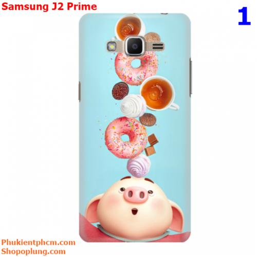 Ốp lưng Samsung J2 Prime in hình Heo đáng yêu M1 - M43
