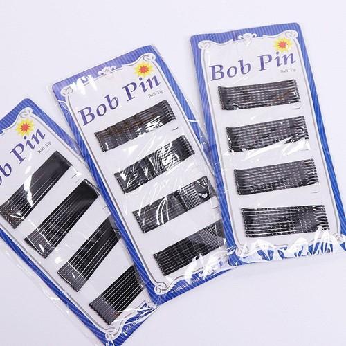 Kẹp Tóc Bob Pin 36c - Tặng Kèm Khăn giấy nén đa năng hình viên kẹo