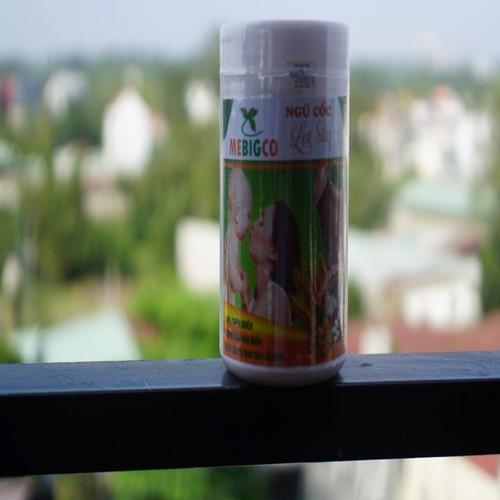 Bột ngũ cốc Lợi sữa Mebigco Combo 3 hộp