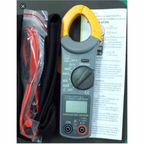Đồng hồ đo Ampe kìm Kyoritsu KEWSNAP200 400A600V - 4636808 , 17124118 , 15_17124118 , 835000 , Dong-ho-do-Ampe-kim-Kyoritsu-KEWSNAP200-400A600V-15_17124118 , sendo.vn , Đồng hồ đo Ampe kìm Kyoritsu KEWSNAP200 400A600V