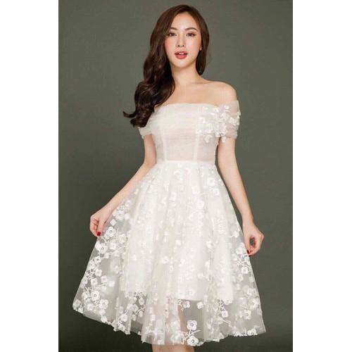 Đầm ren kute