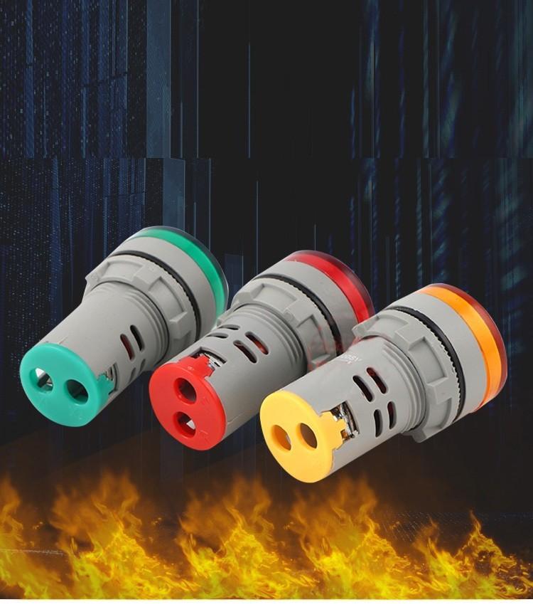 Đèn báo hiển thị điện áp AC 60 đến 750V AD16 22DSV 4