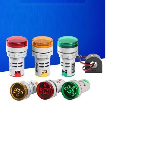 Đèn báo hiển thị điện áp AC 60 đến 750V AD16 22DSV 1