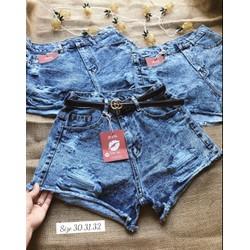 Quần Short Jeans Nữ Đại Size 30 đên 32