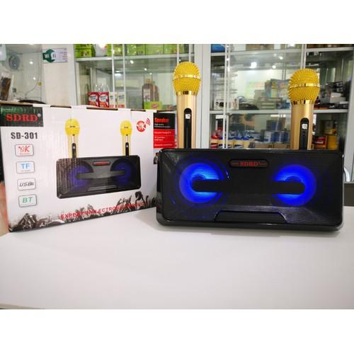 Loa Bluetooth Karaoke Mini SD-306 + Tặng Kèm 2 Mic - 7323974 , 17122524 , 15_17122524 , 790000 , Loa-Bluetooth-Karaoke-Mini-SD-306-Tang-Kem-2-Mic-15_17122524 , sendo.vn , Loa Bluetooth Karaoke Mini SD-306 + Tặng Kèm 2 Mic