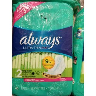 Băng vệ sinh Always Ultra Thin Fresh - BVS2020 thumbnail