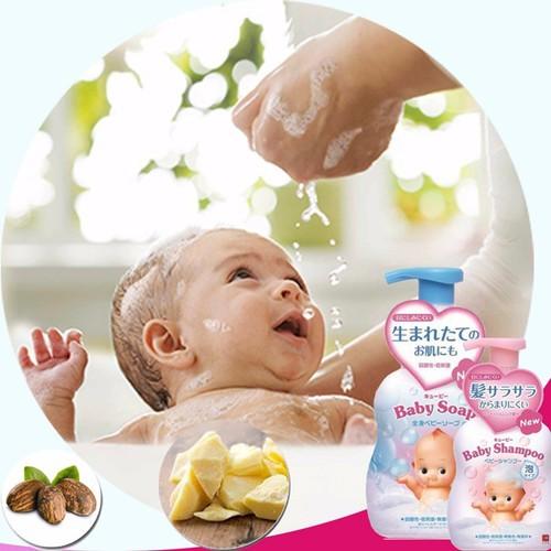 Sữa tắm gội cho bé Baby Soap màu xanh - 4901525956406