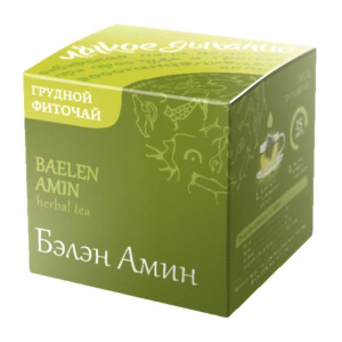 Trà thảo mộc Baelen Amin 500127 Siberian Wellness phục hồi sức khỏe khi bị cảm, cúm từ Nga