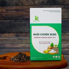 Muối chườm bụng Bảo Nhiên 850g giúp Săn bụng – Giảm eo – Mờ rạn + Tặng kèm túi đựng muối trong mỗi hộp - Muối chườm bụng