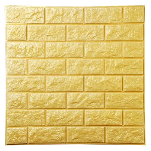 Xốp dán tường 3D Vân đá Vàng Loại dày KT 77X70 - 7331859 , 17126060 , 15_17126060 , 90000 , Xop-dan-tuong-3D-Van-da-Vang-Loai-day-KT-77X70-15_17126060 , sendo.vn , Xốp dán tường 3D Vân đá Vàng Loại dày KT 77X70