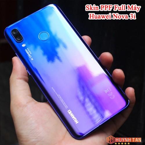 Miếng Dán Trong PPF Huawei Nova 3i Tăng Cường Độ Bóng Mặt Lưng + Viền Tặng 1 Miếng Dự Phòng