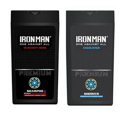 Combo Dầu gội sữa tắm hương nước hoa Ironman Humanity và Encounter 380g