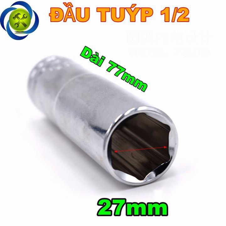 Tuýp trắng dài 27mm C-MART F0291-6-27 1 phần 2  1