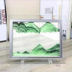 Tranh cát để bàn - tranh cát trang trí size trung GD035
