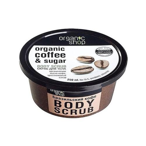 Tẩy Da Chết Toàn Thân Organic Shop Coffee Sugar Body Scrub