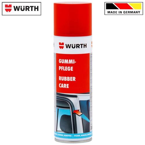 Bảo dưỡng cao su gioăng cửa Wurth Rubber Care 300ml 0890110