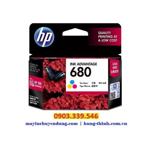 Mực in phun màu HP680