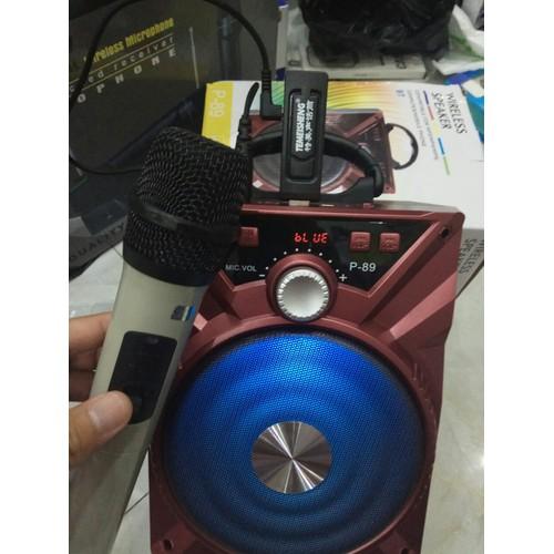 Loa Karaoke Bluetooth với thiết kế nhỏ gọn âm thanh hay + 1 Mic không dây - 4670049 , 17343378 , 15_17343378 , 652000 , Loa-Karaoke-Bluetooth-voi-thiet-ke-nho-gon-am-thanh-hay-1-Mic-khong-day-15_17343378 , sendo.vn , Loa Karaoke Bluetooth với thiết kế nhỏ gọn âm thanh hay + 1 Mic không dây
