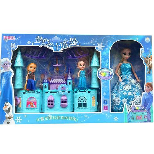 Lâu đài công chúa Elsa và Anna