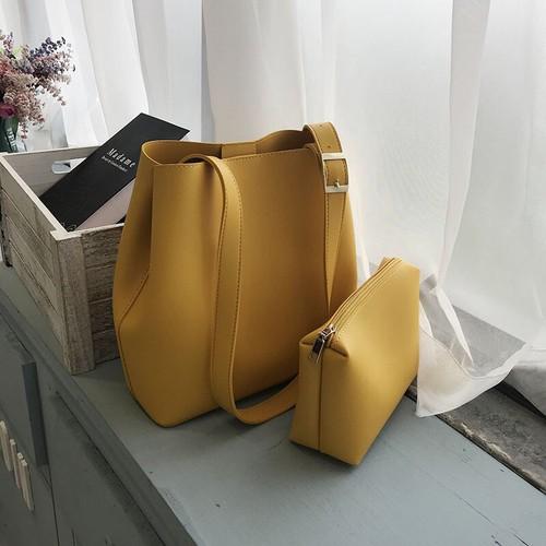 Túi tote cúc bấm 2 bên vừa A4