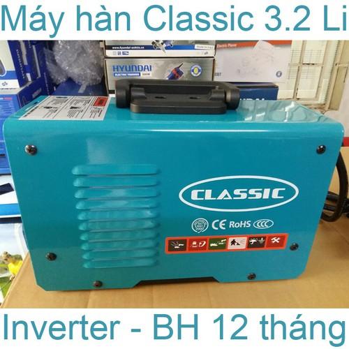 Máy hàn que điện tử mini xách tay Classic ARC 3.2mm - Máy hàn sắt cho gia đình, thợ công nghệ Nhật bản