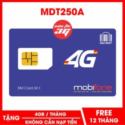 Sim 4G Mobifone F500