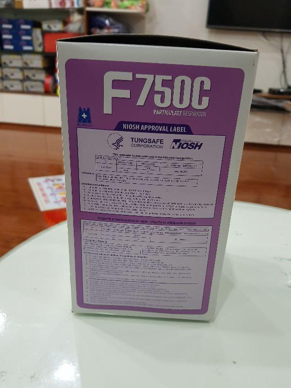1 cái Khẩu trang than hoạt tính BLUE EAGLE F750C - bán lẻ 1 cái