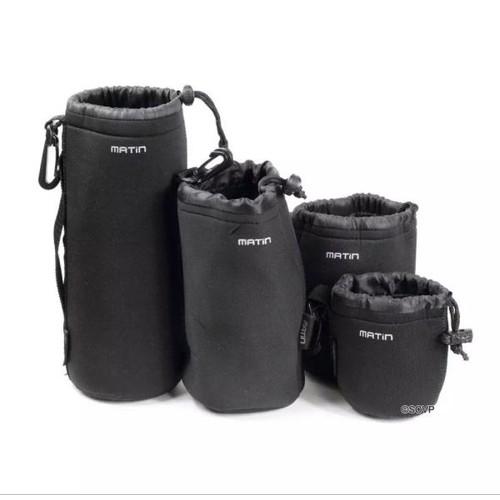 Túi đựng lens Matin size s