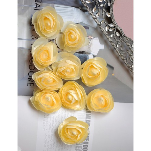Hoa cài áo đồng phục- đám cưới AE0047YL04-10 cái.