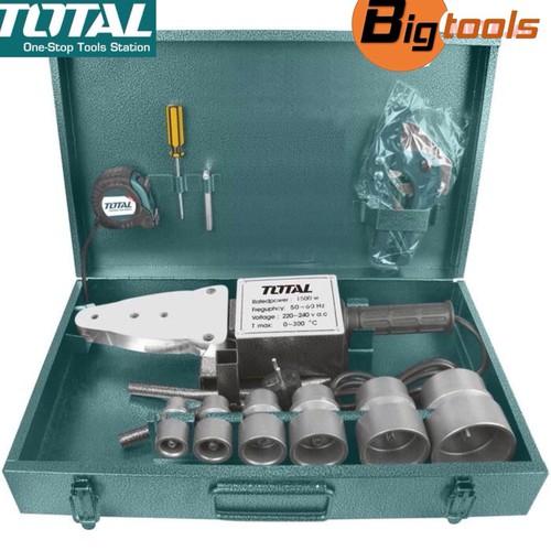 Máy hàn ống nhựa 1500W TOTAL TT328151 63mm - 11390586 , 17347829 , 15_17347829 , 999000 , May-han-ong-nhua-1500W-TOTAL-TT328151-63mm-15_17347829 , sendo.vn , Máy hàn ống nhựa 1500W TOTAL TT328151 63mm