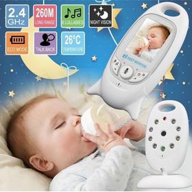 Máy báo khóc có camera cho bé yêu Baby Monitor cảm biến nhiệt độ CE,ROHS - Best Seller Tony - 685-2019