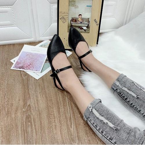 giày búp bê khóa ngang - 4670065 , 17343395 , 15_17343395 , 140000 , giay-bup-be-khoa-ngang-15_17343395 , sendo.vn , giày búp bê khóa ngang