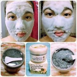 Mặt nạ sủi bọt thải độc bì heo Carbonated Buble Clay mask Bioaqua