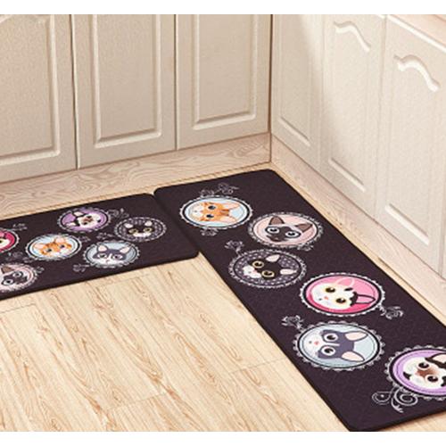 Bộ 2 tấm thảm lót chùi chân trang trí mèo đen - 4852546 , 17355709 , 15_17355709 , 180000 , Bo-2-tam-tham-lot-chui-chan-trang-tri-meo-den-15_17355709 , sendo.vn , Bộ 2 tấm thảm lót chùi chân trang trí mèo đen