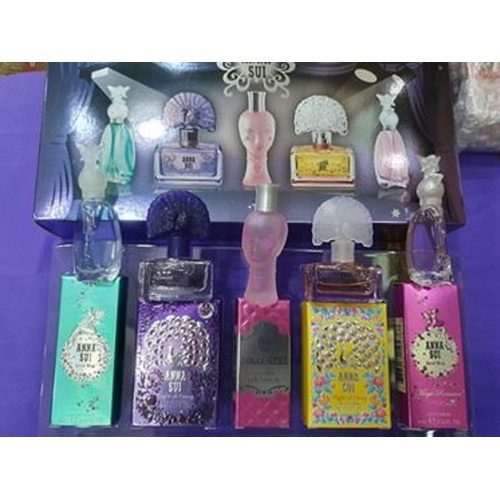 ANNA SUI MINIATURE COLLECTION GIFT SET FOR WOMEN-Set nước hoa nữ Anna Sui 5pc