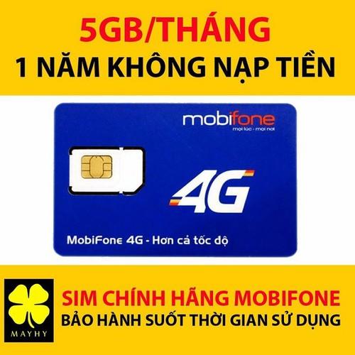 Sim 4G Mobifone F500 miễn phí cả năm