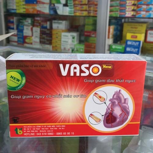 Vaso New - bí quyết vàng trong điều trị tim mạch