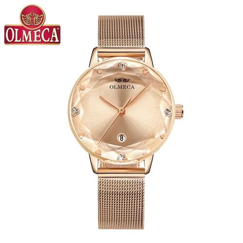 Đồng hồ nữ OLMECA dây lưới thời trang mặt kính pha lê - tặng pin - OLM11 - 4668981 , 17338056 , 15_17338056 , 350000 , Dong-ho-nu-OLMECA-day-luoi-thoi-trang-mat-kinh-pha-le-tang-pin-OLM11-15_17338056 , sendo.vn , Đồng hồ nữ OLMECA dây lưới thời trang mặt kính pha lê - tặng pin - OLM11