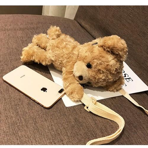 Túi gấu hot girl Kute đáng yêu gọn nhẹ tiện lợi đem lại may mắn và cá tính