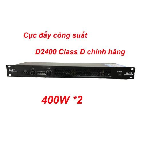 Cục đẩy công suất D2400 Class D