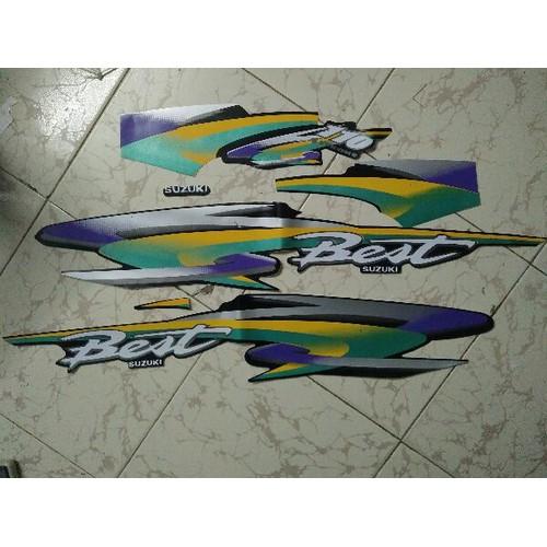 Bộ tem xe Suzuki Best - 4667851 , 17333432 , 15_17333432 , 50000 , Bo-tem-xe-Suzuki-Best-15_17333432 , sendo.vn , Bộ tem xe Suzuki Best