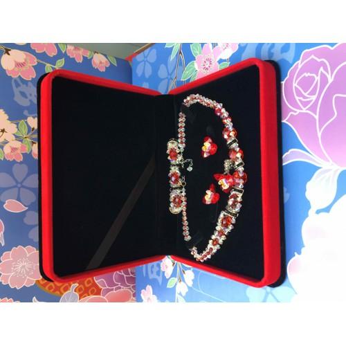 Hộp nhung đỏ đựng cả bộ trang sức sang trọng tphcm - 11494819 , 17353558 , 15_17353558 , 95000 , Hop-nhung-do-dung-ca-bo-trang-suc-sang-trong-tphcm-15_17353558 , sendo.vn , Hộp nhung đỏ đựng cả bộ trang sức sang trọng tphcm