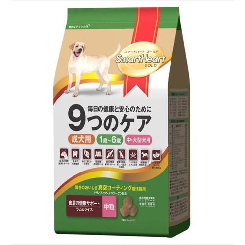 SMARTHEART GOLD thịt cừu và gạo 3kg cho chó trưởng thành