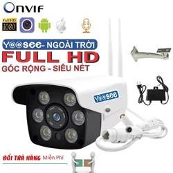 Camera Wifi ngoài trời Yoosee 8106A Full 1080 HD - hỗ trợ 2 đèn hồng ngoại và 4 đèn LED xem đêm có Màu