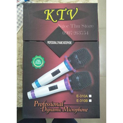 Micro có dây KTV E-310B